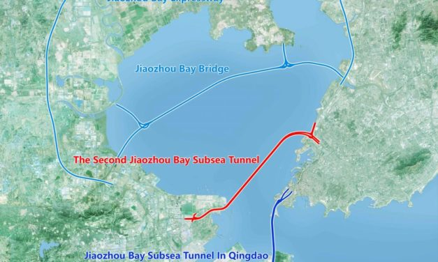 Chinese start building the world's longest subsea road tunnel