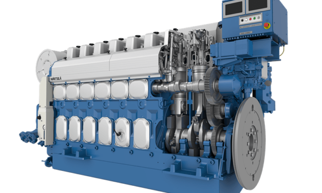 Wärtsilä introduces engine and SCR package to meet China's new emission standard