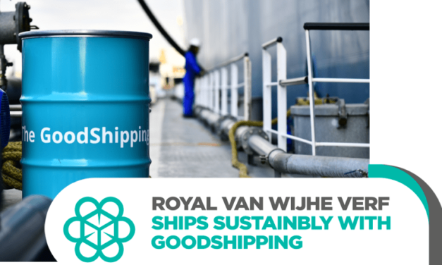 Royal Van Wijhe Verf switches to biofuels to decarbonise freight